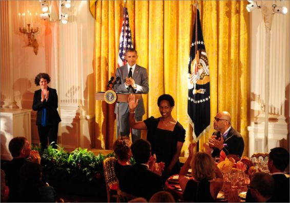 President Obama Recognizing Loretta
